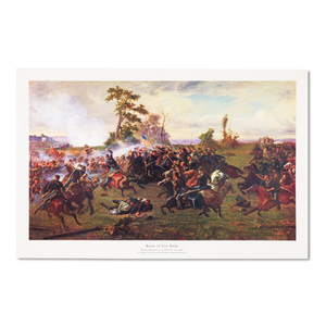 Battle Five Forks Print